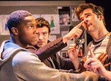 Tosin Cole, Ben Starr, Adam Riches in Stop The Play