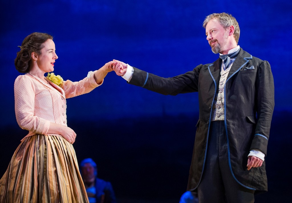 Amanda Drew & John Simm in Patrick Marber's Three Days In The Country. Images Tristram Kenton.