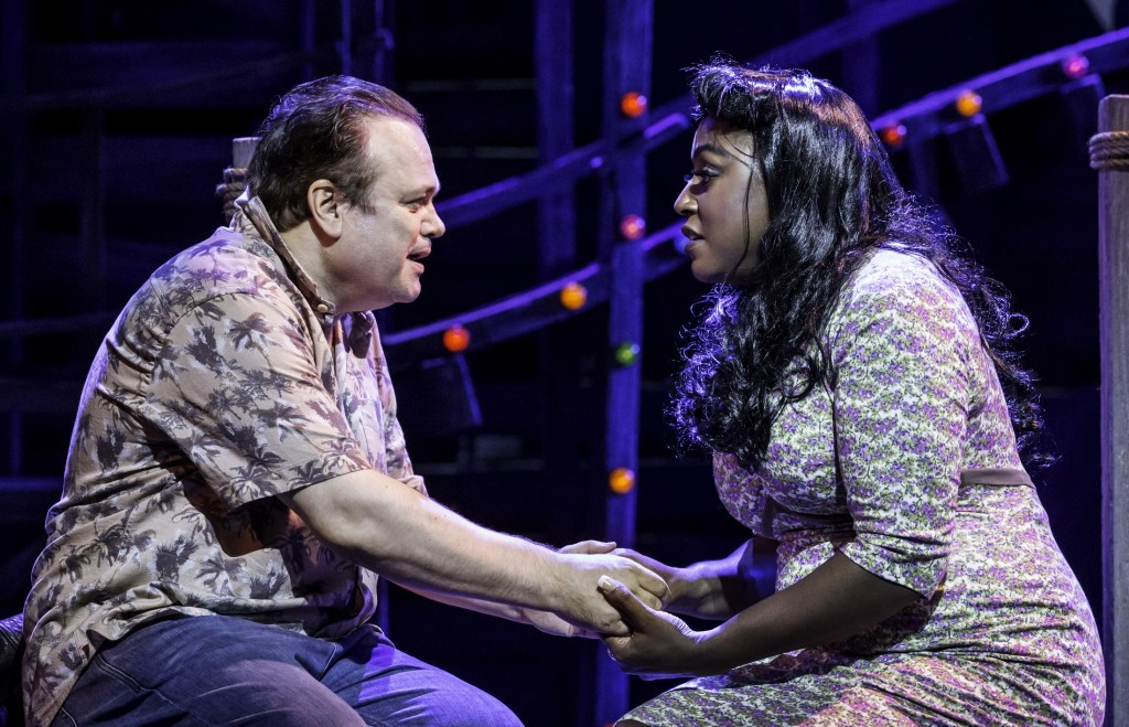 Shaun Williamson & Mica Paris in Love Me Tender