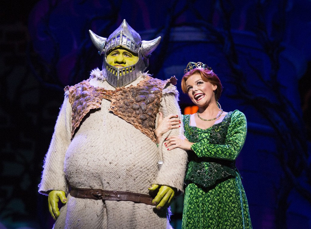 Shrek the Musical. Images by Helen Maybanks.