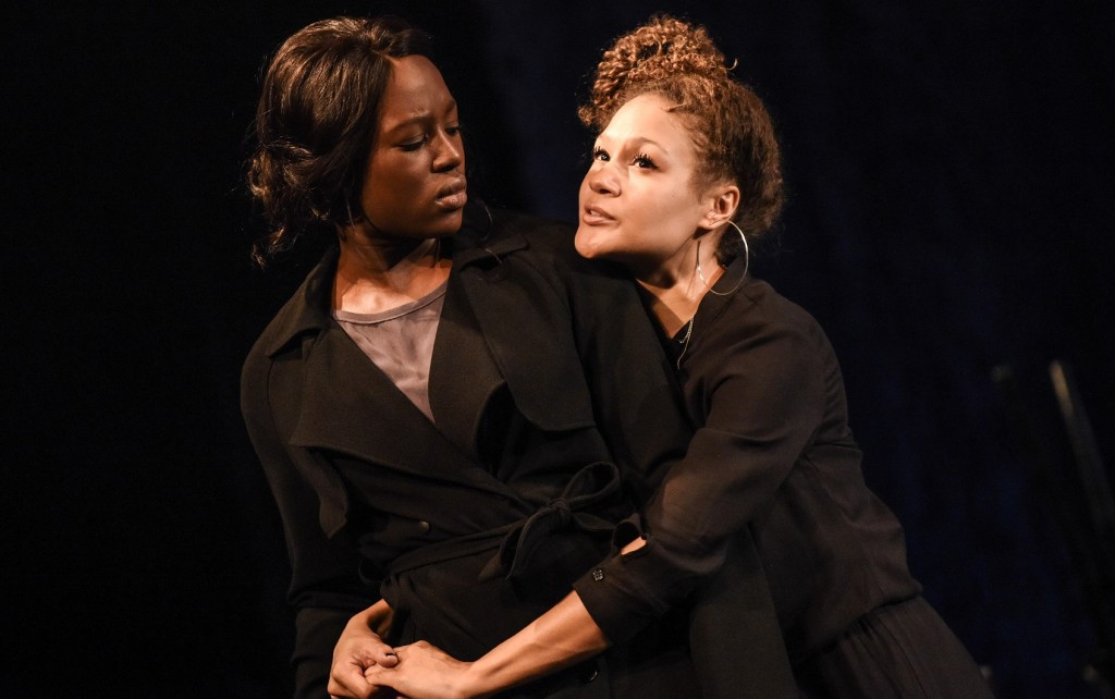 Jennifer Saayeng and Allyson Ava-Brown in The Etienne Sisters. Images Robert Day.