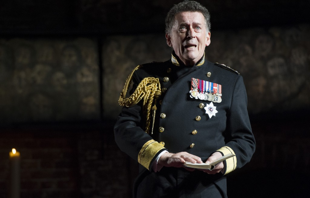 Robert Powell in King Charles III. Images Richard Hubert Smith