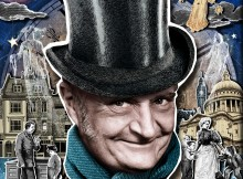jim broadbent as scrooge in a christmas carol