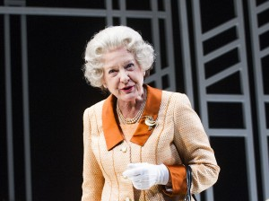 Susie Blake in Handbagged