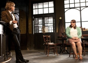 Johnny Flynn & Bronwyn James  in Hangmen.