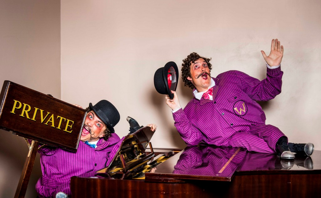 Oompa Loompas from Charlie and the Chocolate Factory. Images Matt Crockett