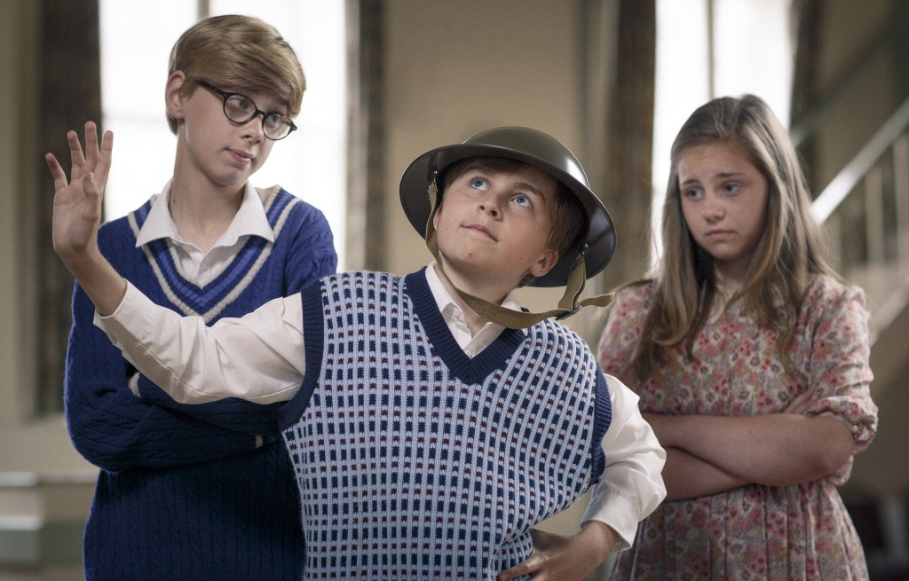 Sam Davies, George Grattage & Amy Leek in Leave Hitler to me Lad