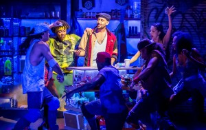 Sam Mackay (Usnavi). In The Heights