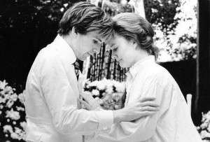 Ralph Fiennes & Sarah Woodward, Romeo and Juliet (1986).