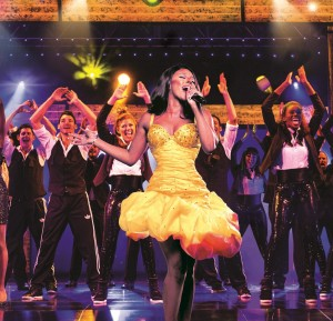 Alexandra Burke in The Bodyguard (Photograph of West End production) - 6066 - photo by Paul Coltas