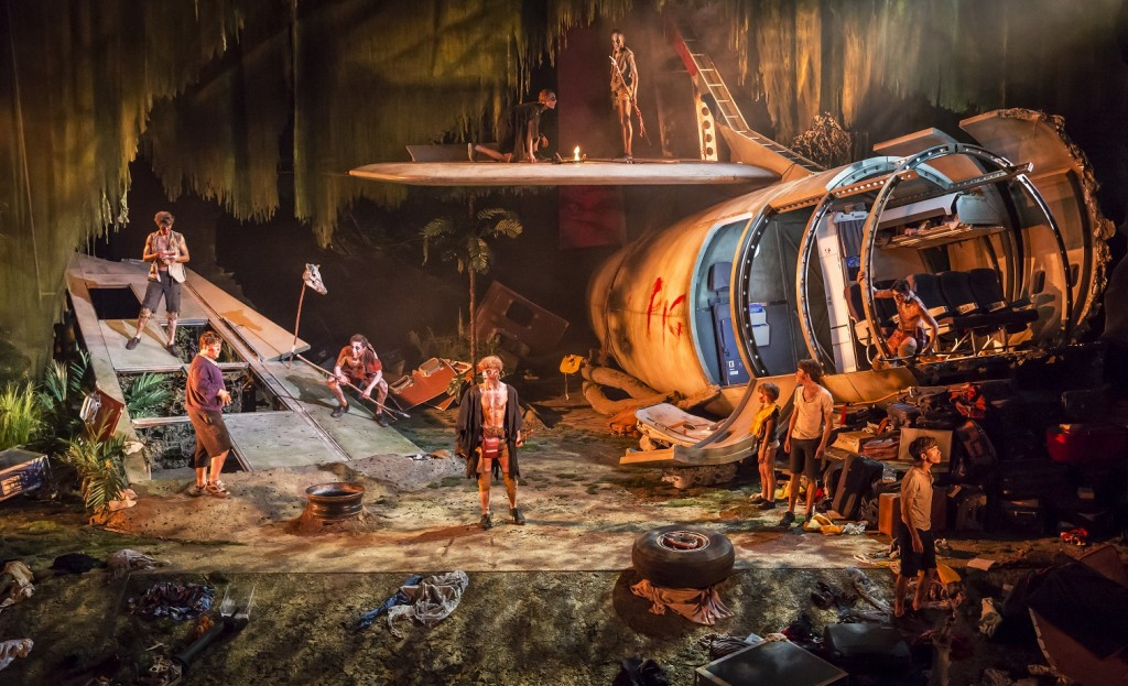 Lord of the Flies. Images Johan Persson.