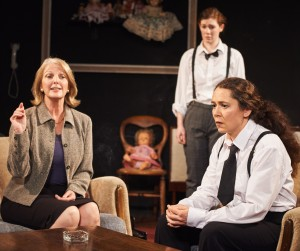 sister george Sarah Shelton (Mrs Mercy Croft), Sioned Jones & Briony Rawle, The Killing of Sister George (c) Ashley Carter