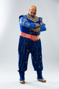 Trevor Dion Nicholas as the Genie in Disney's Aladdin