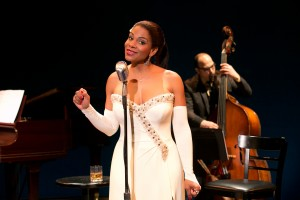 Audra McDonald and George Farmer in Lady Day at Emerson's Bar & Grill. Photo credit Evgenia Eliseeva.jpg