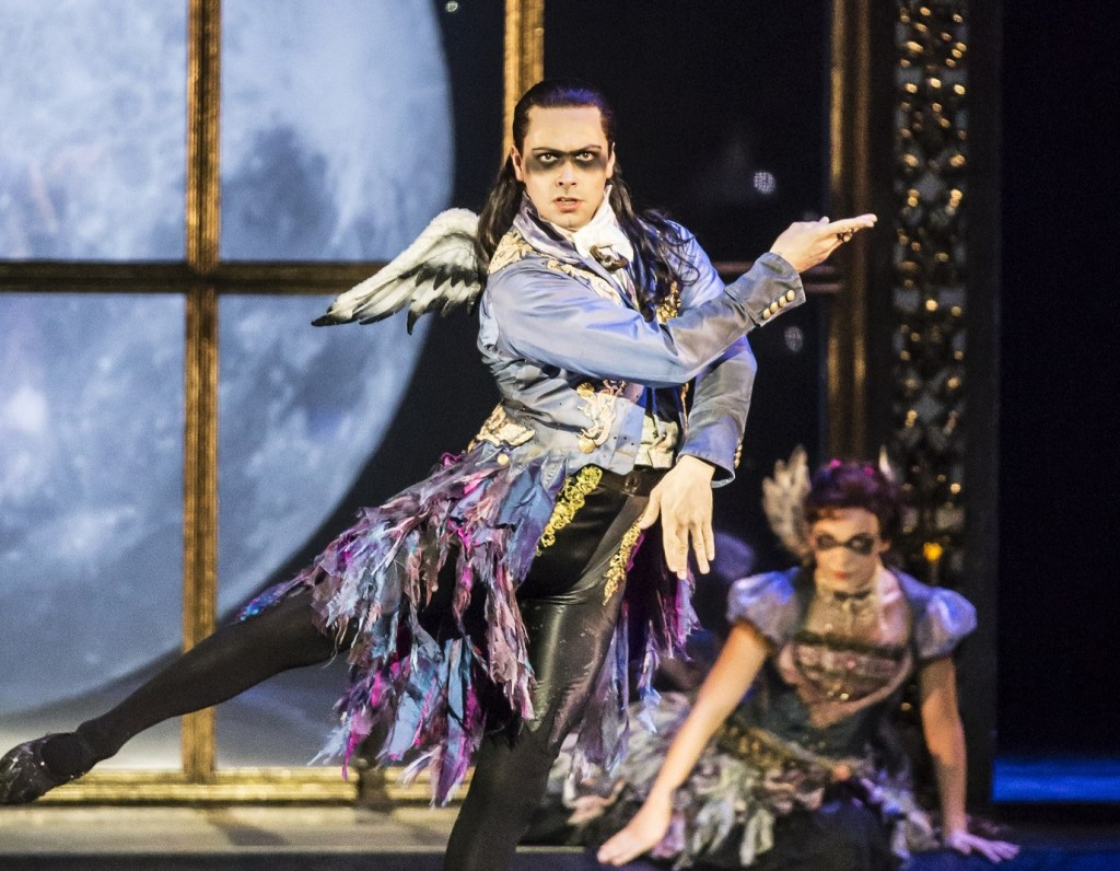 Christopher Marney in Sleeping Beauty. Images Johan Persson