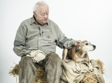 Dudley Sutton, Of Mice and Men. Images Shaun Webb