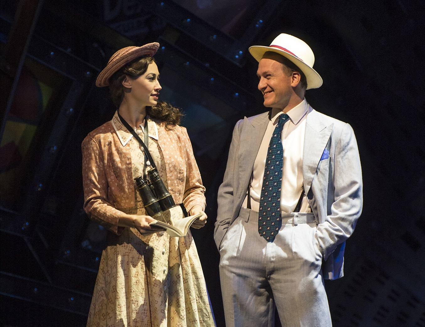 review of guys and dolls play Guys and dolls a musical fable of broadway in two acts based on a story and characters by damon runyon book by abe burrows and jo swerling: music & lyrics by frank loesser.