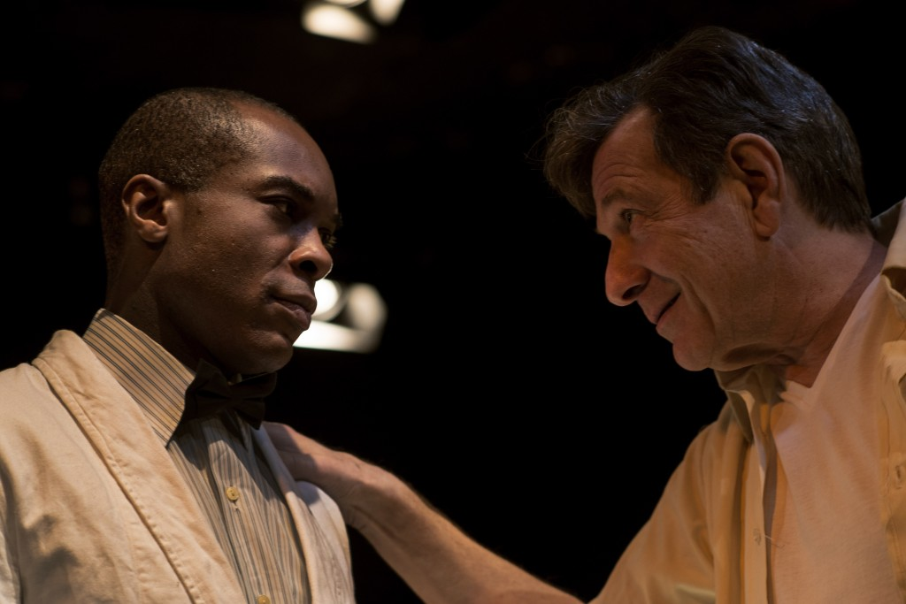 Cornelius Macarthy & Michael Brandon in The Long Road South