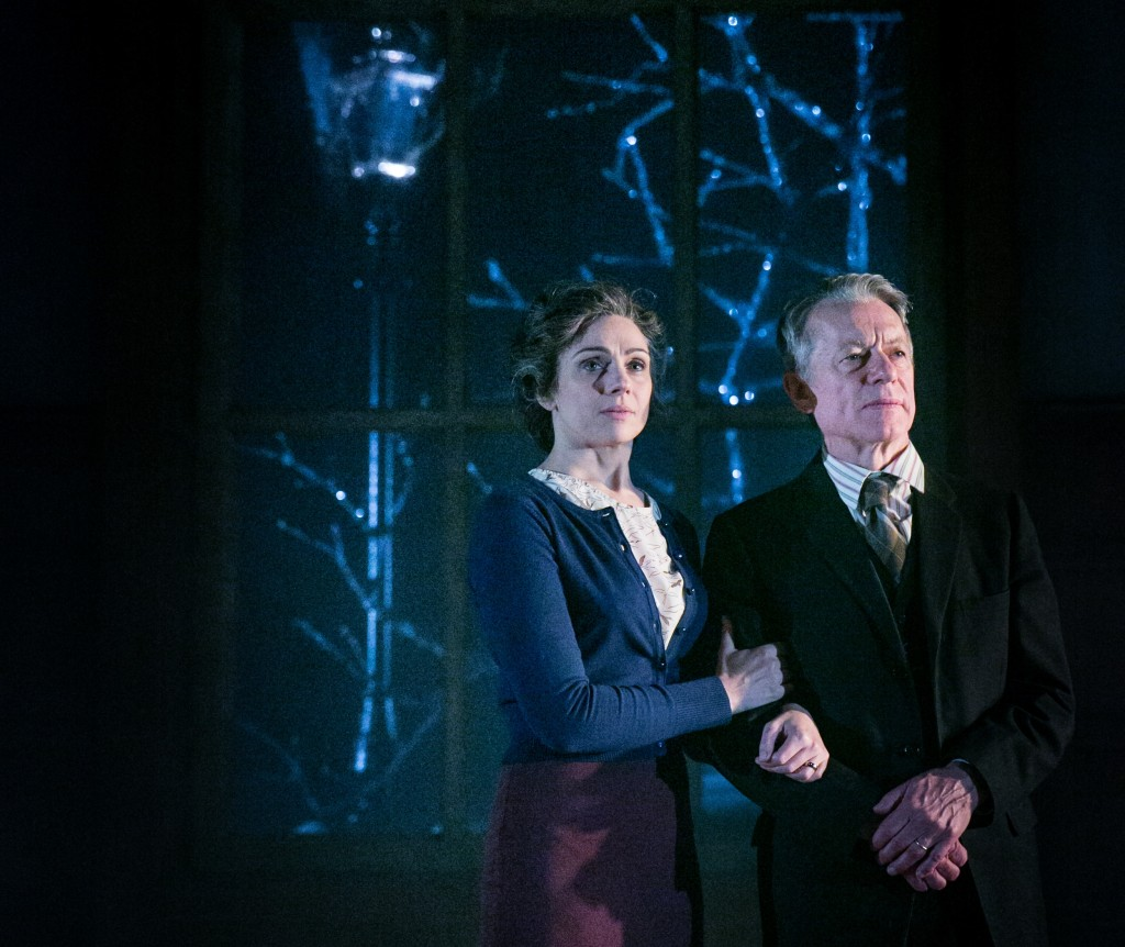 Amanda Ryan and Stephen Boxer in Shadowlands. Images Jack Ladenburg.