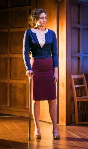 Amanda Ryan as Joy Davidman in Shadowlands. Credit Jack Ladenburg (3)