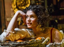 Gemma Arterton in Nell Gwynn. Images by Tristram Kenton