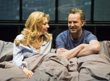 Jennifer Mudge & Matthew Perry in The End Of Longing. Images Helen Maybanks