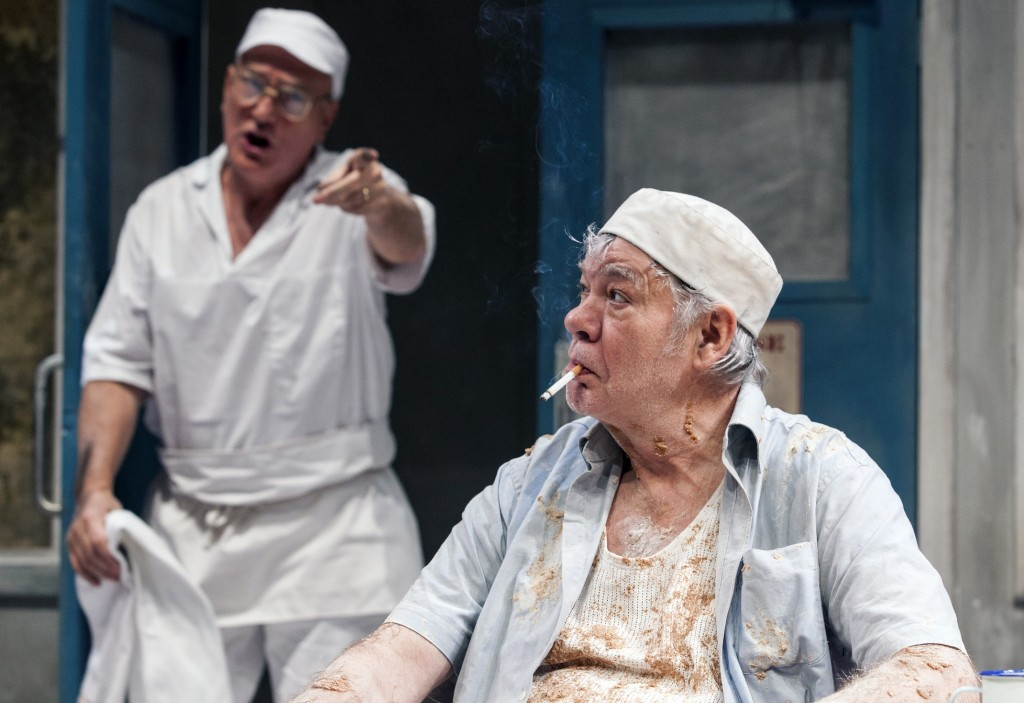 Simon Greenall & Matthew Kelly in Toast. Images Oliver King.