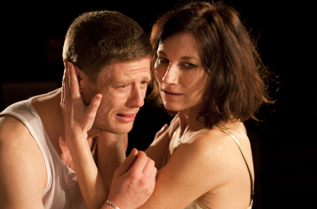 James Norton & Kate Fleetwood in Bug. Images Simon Annand.