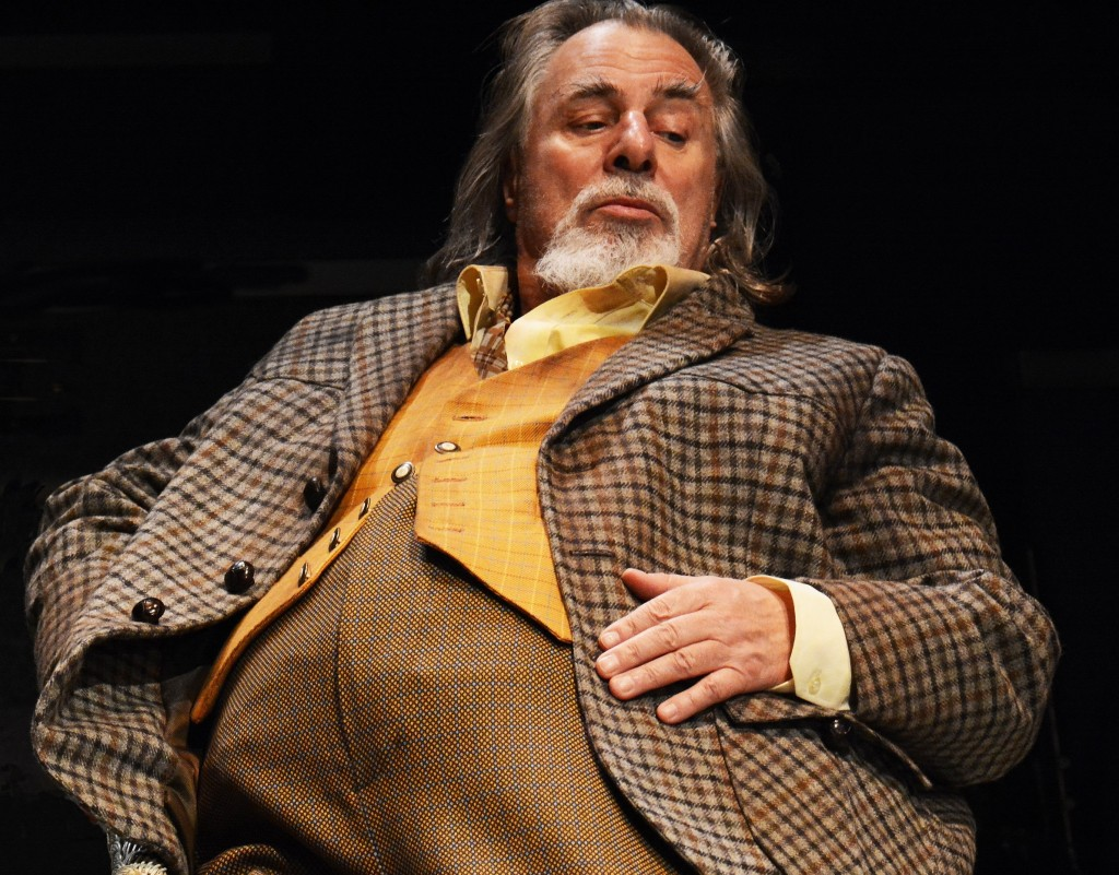 Barrie Rutter in The Merry Wives. Images Nobby Clark
