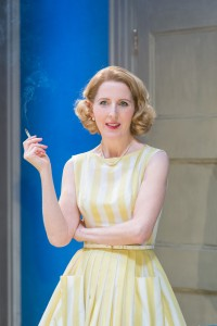 Fenella Woolgar (Valerie) in WHCF! at Donmar Warehouse. Photo by Manuel Harlan (2)
