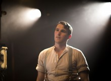 George Turvey in No Villain. Images Cameron Harle