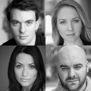 Alastair Whatley, Emily Bowker, Graeme Brookes, Kerry Bennett in Invincible