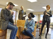 In rehearsal, Clybourne Park