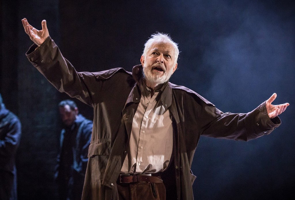 Michael Pennington - King Lear. Images Marc Brenner.