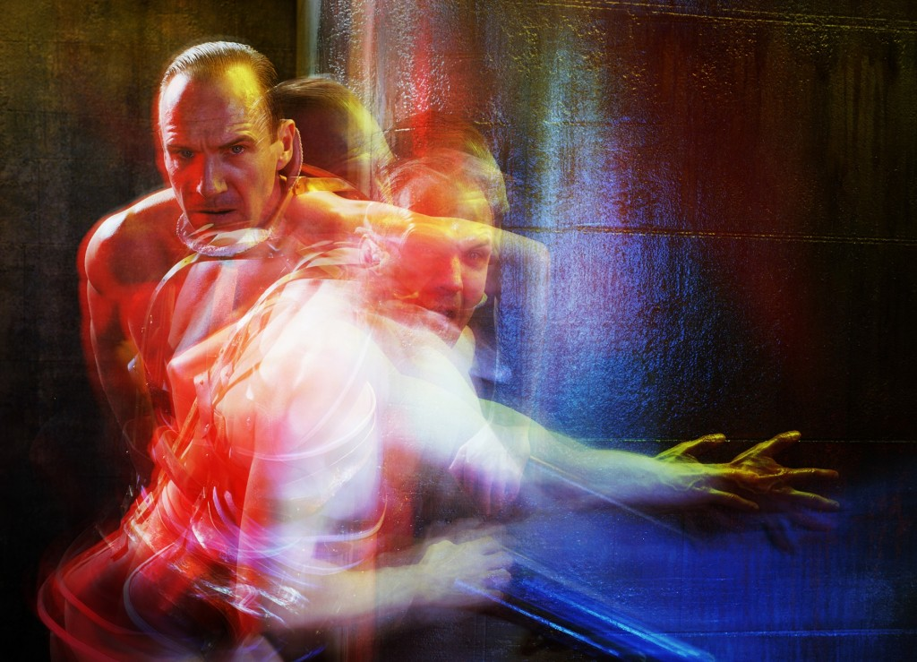Ralph Fiennes as Richard III. Image Miles Aldridge