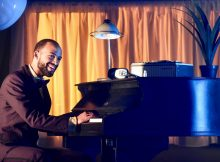 Nathan Ives-Moiba as Marvin Gaye in Soul. Images Robert Day.