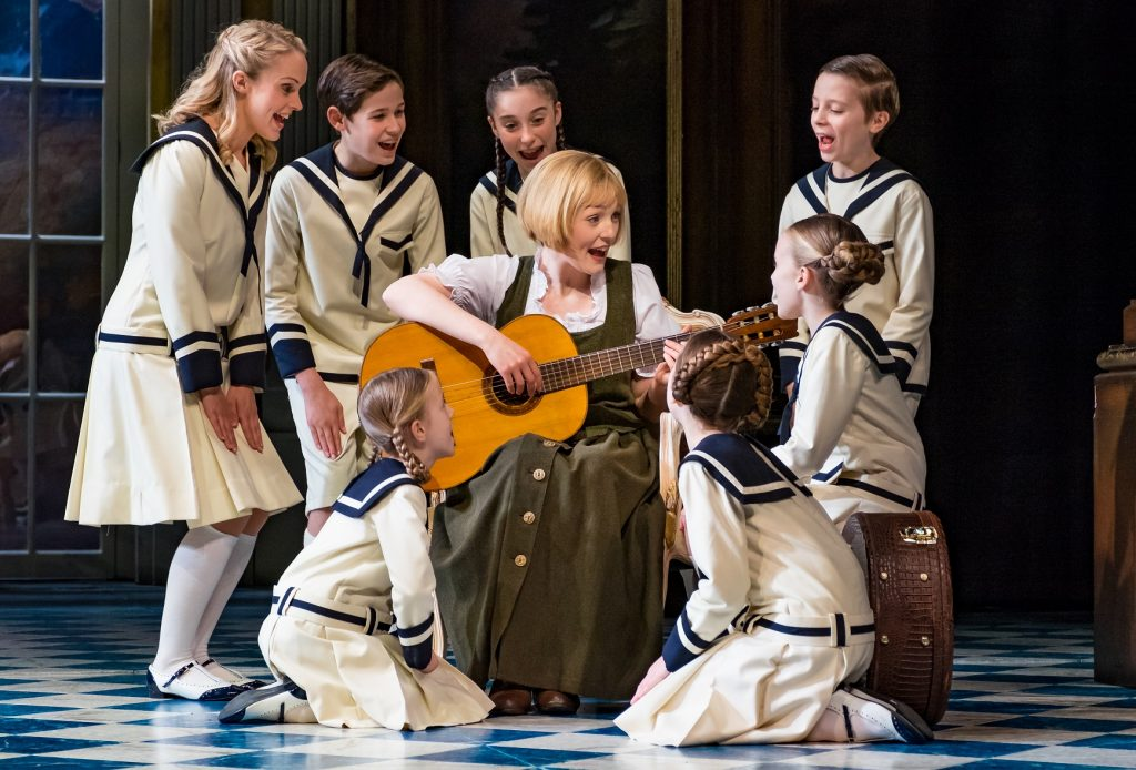 a review of the musical the sound of music The sound of music is a fictionalisation of the trapp family singers, the autobiography of the real-life maria von trapp with music by richard rodgers, lyrics by oscar hammerstein and a libretto by howard lindsay and russel crouse, the musical debuted in 1959.
