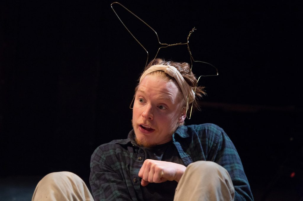 Freddie Fox in A Midsummer Night's Dream. Images Tomas Turpie