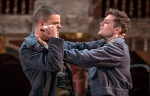 James Fortune-Lloyd & Freddie Stewart in Macbeth