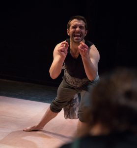 Ludovic Hughesi n A Midsummer Night's Dream at Southwark Playhouse until 1st July CREDIT Tomas Turpie