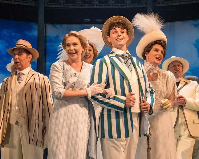 10. Emma Williams, Charlie Stemp and Company in Chichester Festival Theatre's HALF A SIXPENCE. Photo by Manuel Harlan 14
