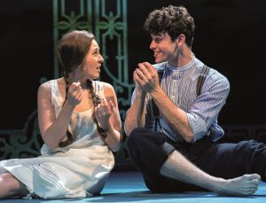 2. Devon-Elise Johnson (Ann) & Charlie Stemp (Arthur Kipps) in CFT's HALF A SIXPENCE Photo by Manuel Harlan-3