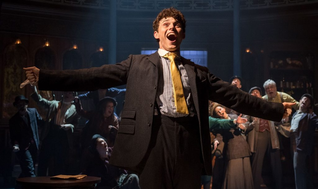 Charlie Stemp in Half A Sixpence. Image Manuel Harlan