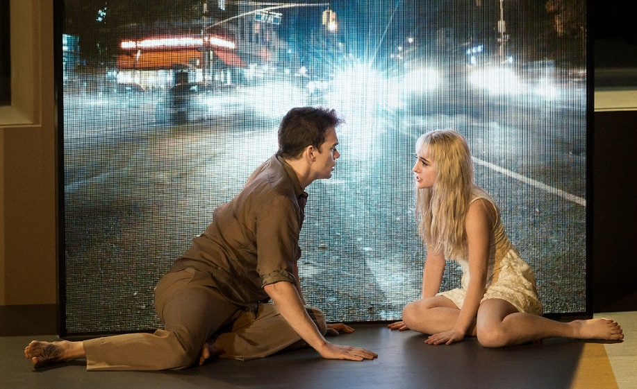 Michael C Hall & Sophia Anne Caruso in Lazarus (Broadway cast). Images  Jan Versweyveld.