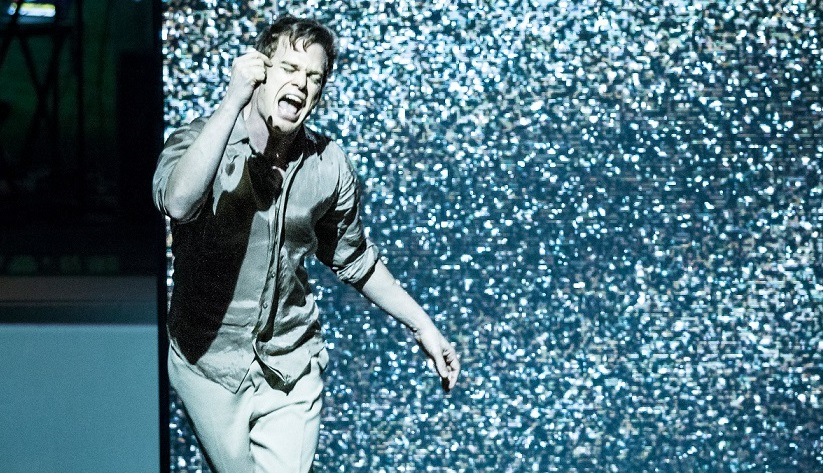 Michael C Hall in Lazarus (Broadway cast). Images Jan Versweyveld.