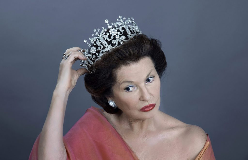 Stephanie Beacham in A Princess Undone. Image Gareth McLeod.