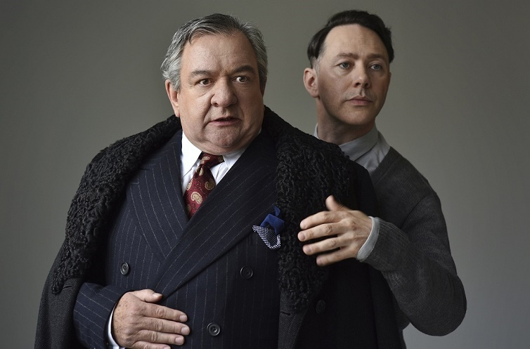 Ken Stott & Reece Shearsmith in The Dresser. Images Hugo Glendinning.