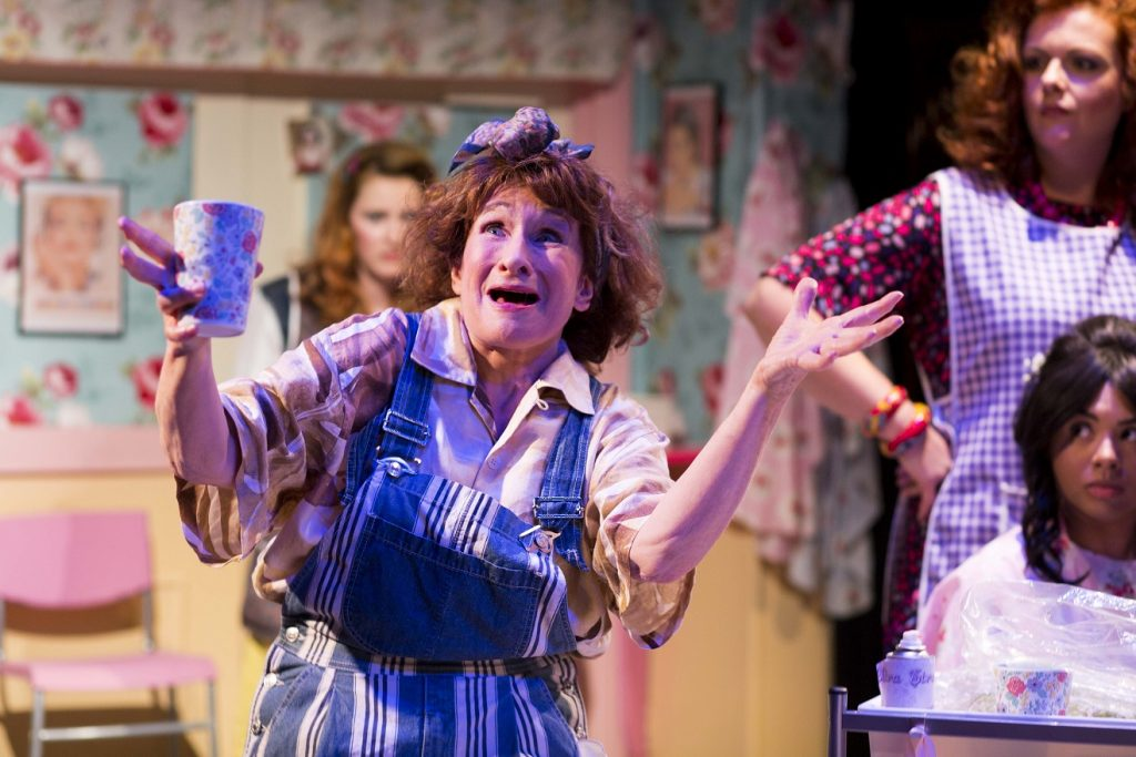Ariel Harrison, Maggie Robson, Jo Wickham & Samantha Shellie in Steel Magnolias. All images LHPhotoshots