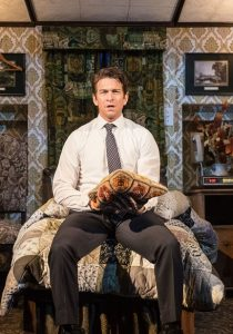 Andy Karl (Phil Connors) in Groundhog Day at The Old Vic. Photo by Manuel Harlan (1-55-Edit-2)