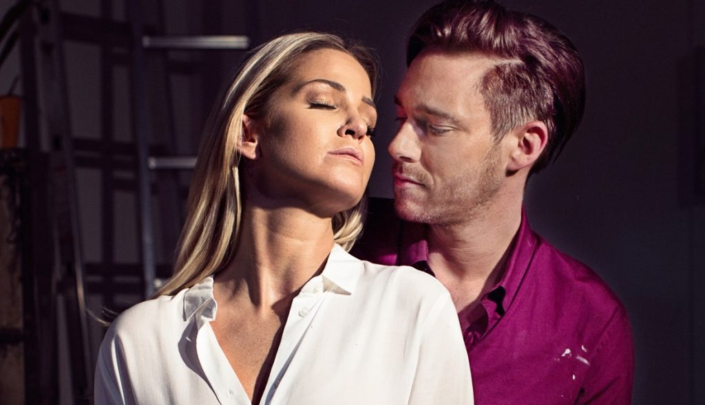 Sarah Harding & Andrew Moss in Ghost The Musical